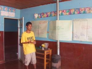 bijeenkomst inheemse jongeren
